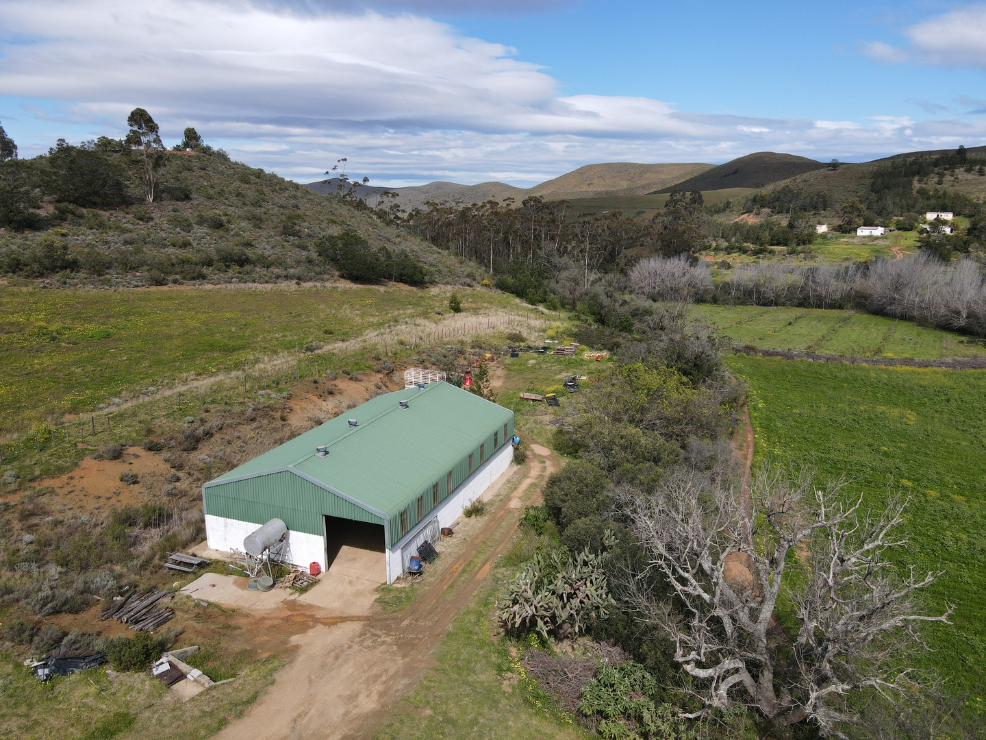 Land in Swellendam - Shed