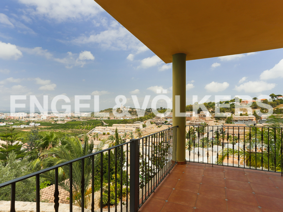 House in Alzira - Views from the terrace