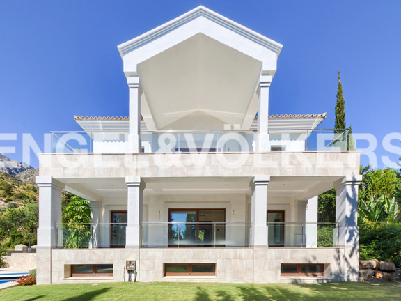 House in Cascada de Camojan - Modern villa for sale in Cascada de Camoján Marbella
