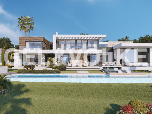 Villa for sale in Sierra Blanca Marbella