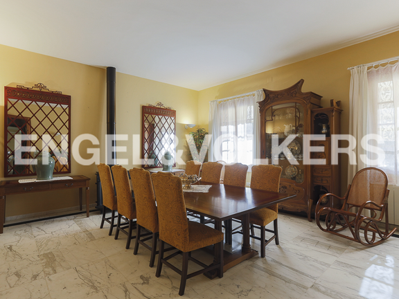 House in Náquera - dining room