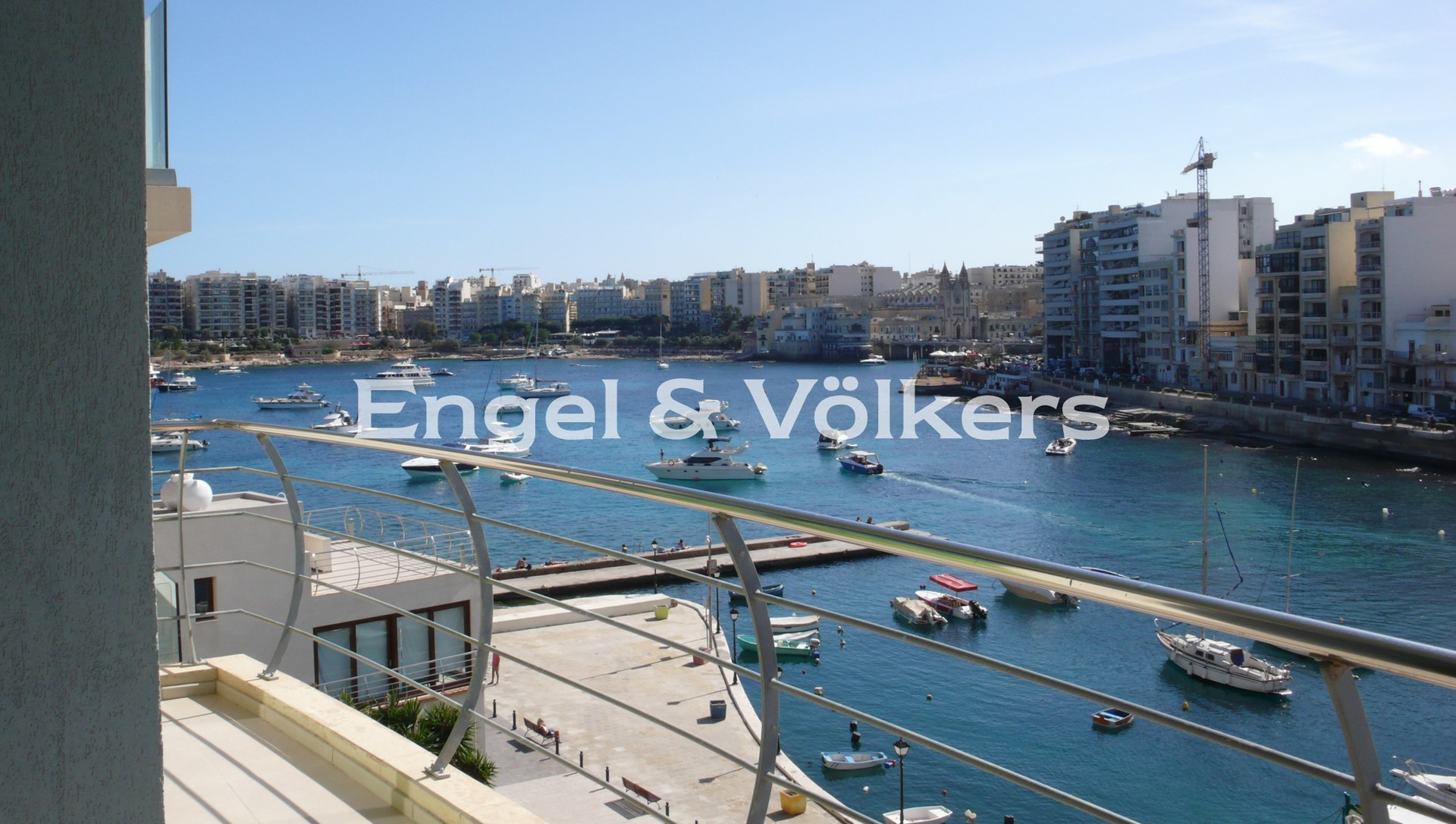 Apartment in St.Julians - Apartment, St Julians, Balcony with a sea view