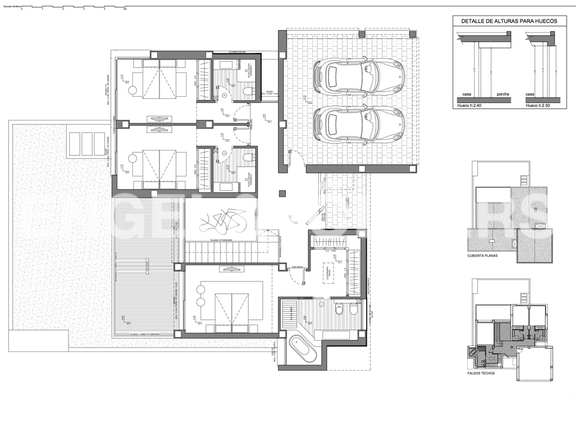 House in Cumbre del Sol - Luxury Villa in Cumbre del Sol, Building Plans