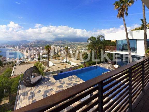 House in Benidorm Rincón de Loix - Ultra luxury villa with breathtaking views. Views
