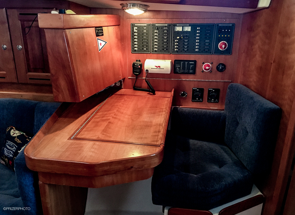 Sail in United States - Chart table