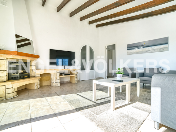 House in Calpe - Fireplace