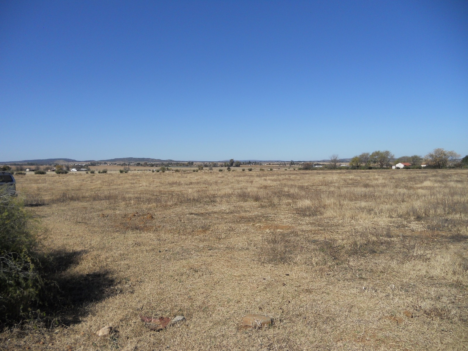 Land in Vyfhoek - View To East