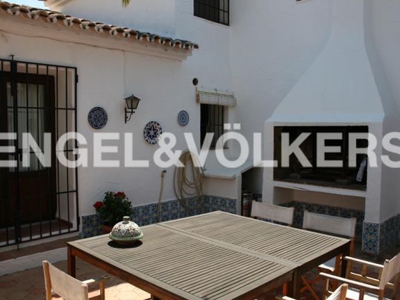 House in Jávea Golf - Rustic Property next to the Javea Golf Course. BBQ.