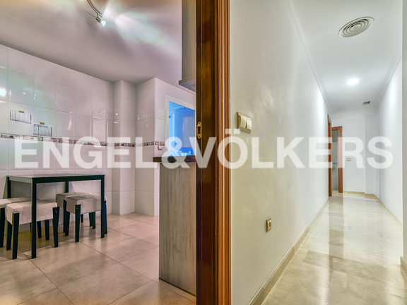 Condominium in Calpe - View to floor and kitchen