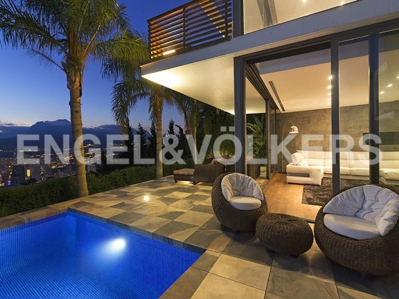 House in Benidorm Rincón de Loix - Ultra luxury villa with breathtaking views. Terrace