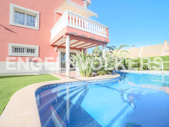 House in Godella - Garden and swimming pool
