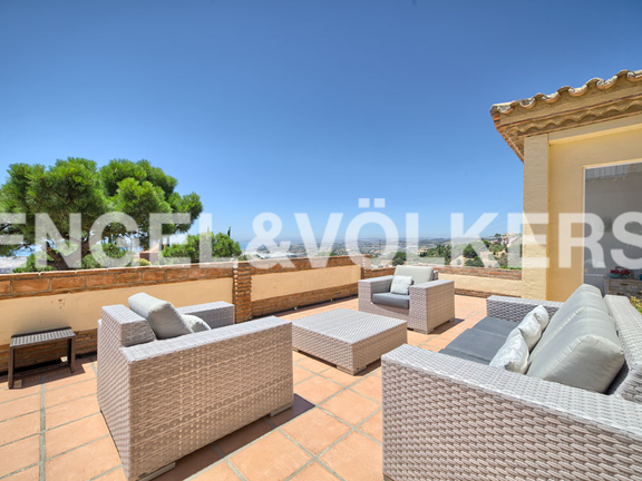 House in Estepona City - Terrace