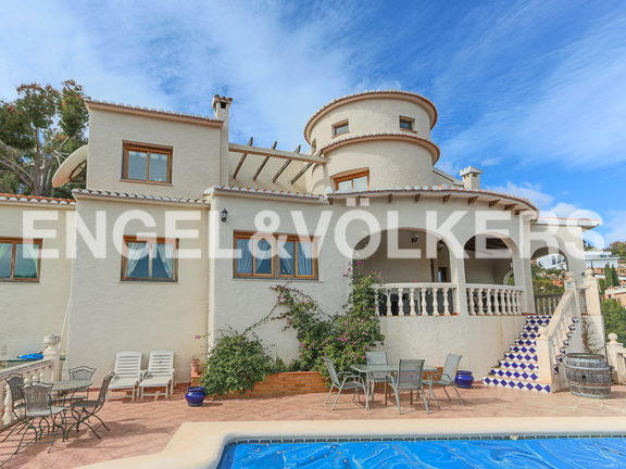 House in La Sella Golf - Frontview.