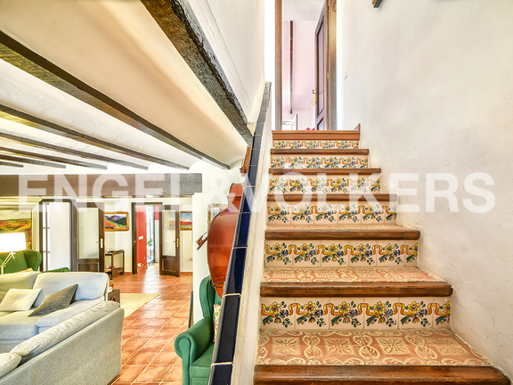 House in Surroundings - Stairs