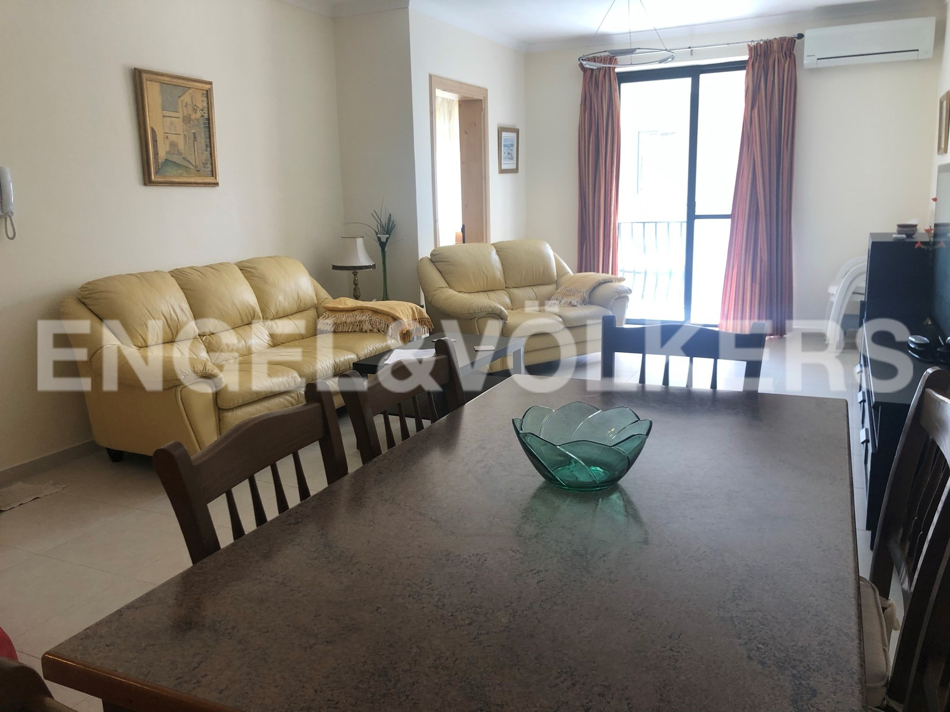 Apartment in St.Pauls Bay - Living Room/Dining Area