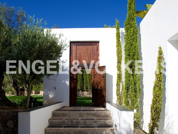House in San Lorenzo - The entrance