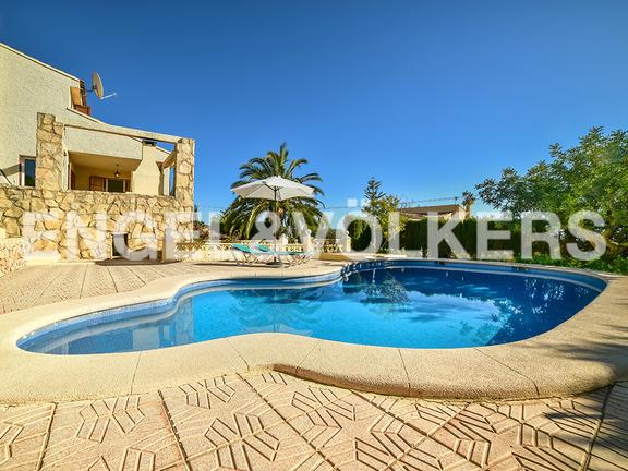 House in Calpe - The pool