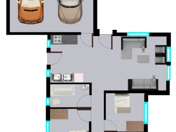 House in Clayville - Midrand Village Unit Type 7.png