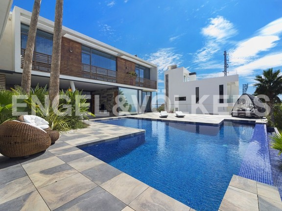 House in Benidorm Rincón de Loix - Ultra luxury villa with breathtaking views. Pool area