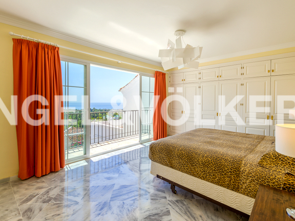 House in Marbella hill club - Master Bedroom