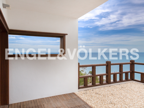 House in Cullera - Master bedroom terace