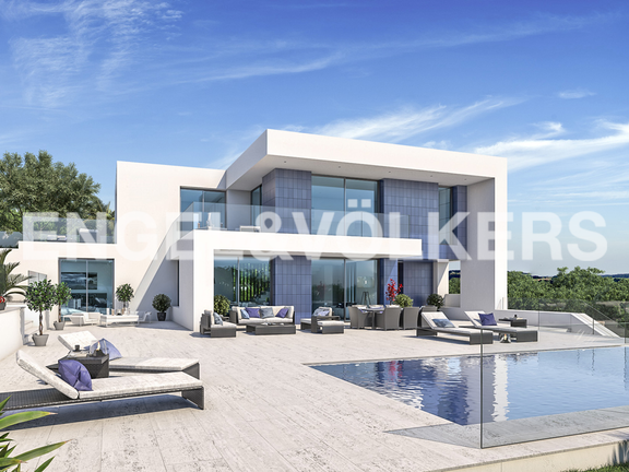 New Modern Luxury Villa with Panoramic Views in Moraira Costa, Villa