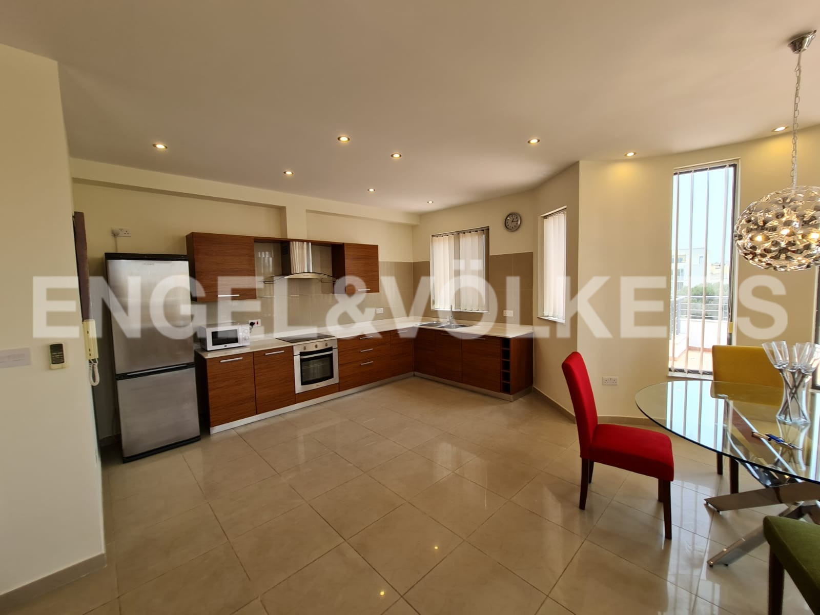 Apartment in Msida - Kitchen / Living / Dining