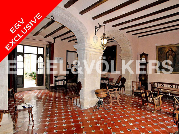 House in Moraira - Ancient Manor in Benissa, Interior