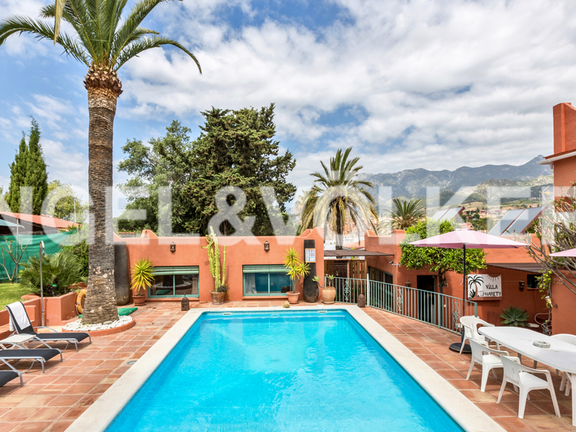 House in Marbella City - Pool Area