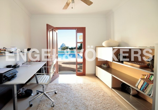 House in Calpe - Office room