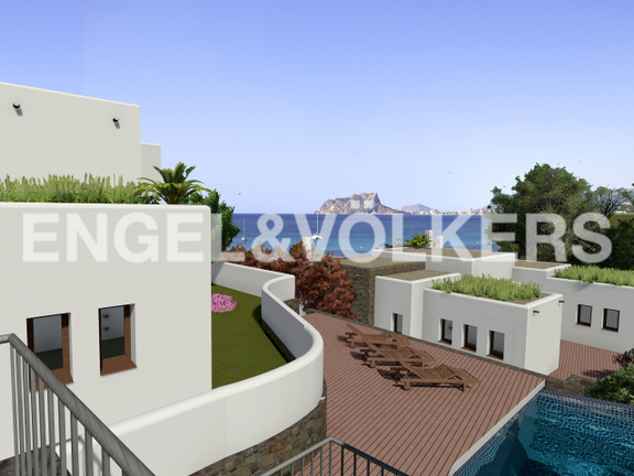 House in Moraira - Luxury Villa in Moraira, Views