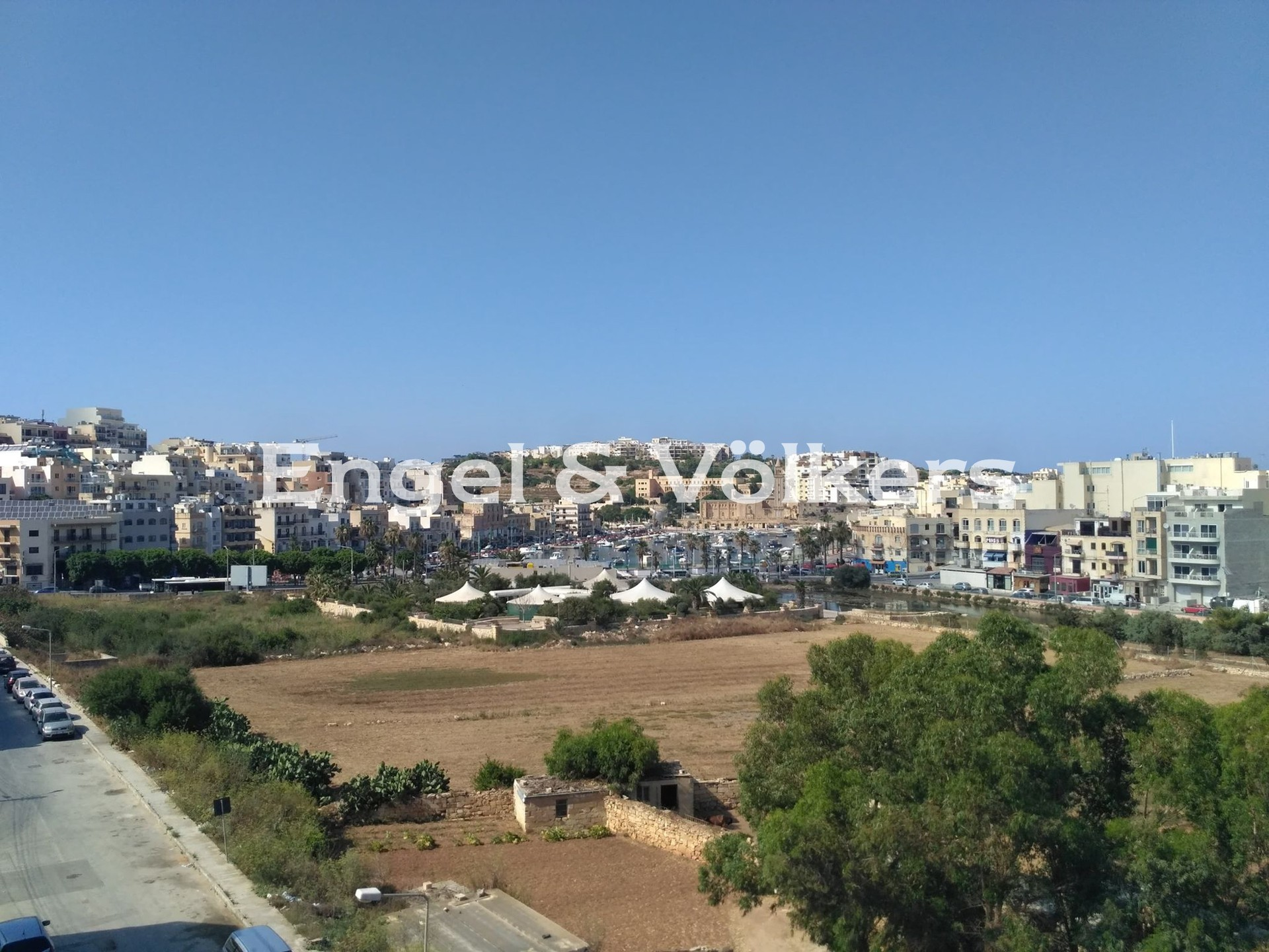 Apartment in M'Scala - Penthouse, Marsaskala, Country view