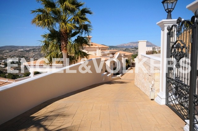 House in Moraira - Luxury home in Moraira, entrance