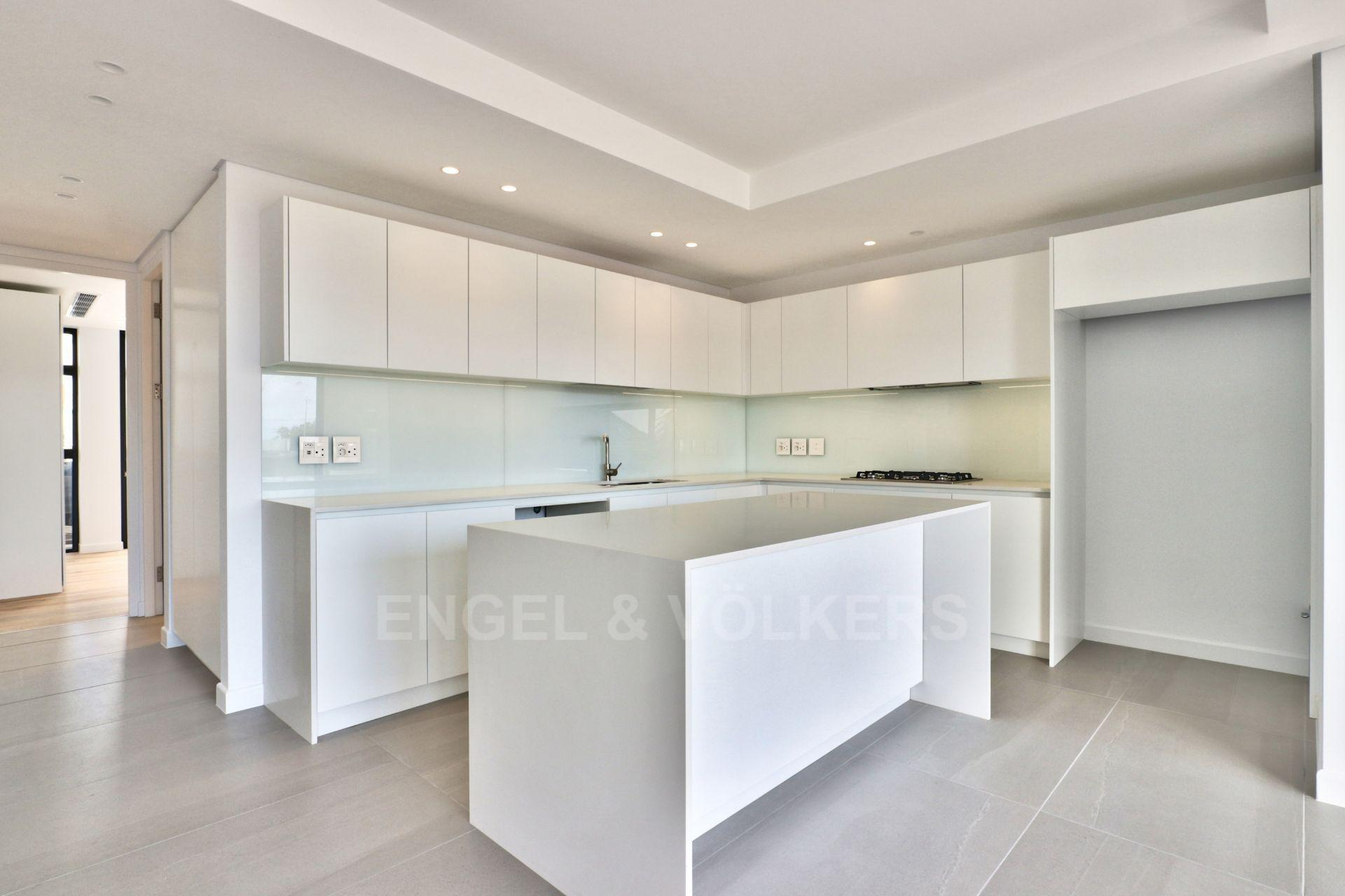 Apartment in Green Point - Open plan kitchen area