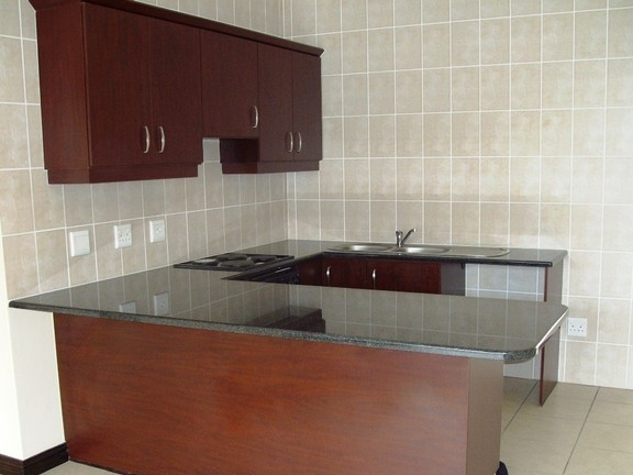 Apartment in Uvongo - Kitchen from Lounge