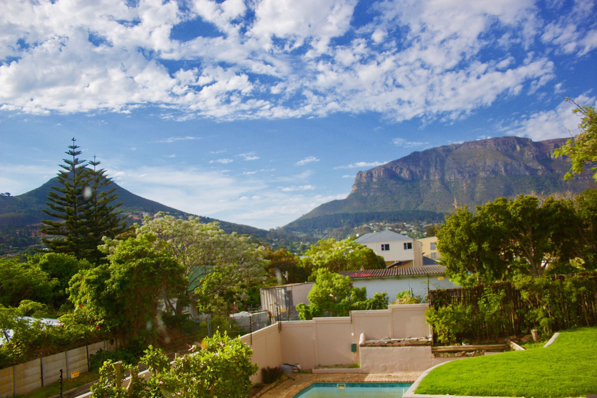 House in Hout Bay - view