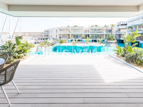 Apartment, St Julians, Large Terrace with the view
