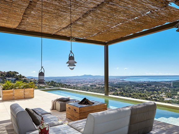 House in Son Vida - Spectacular new villa in Son Vida with amazing views to the sea and Palma