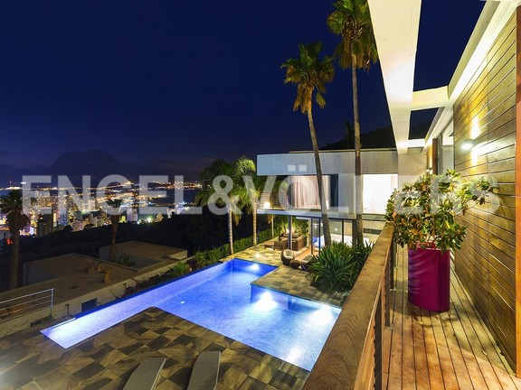 House in Benidorm Rincón de Loix - Ultra luxury villa with breathtaking views. Terrace & Pool