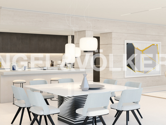 Condominium in Golden Mile - Dining-Kitchen