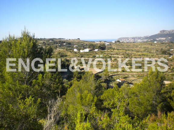 Plot in Benissa, Views
