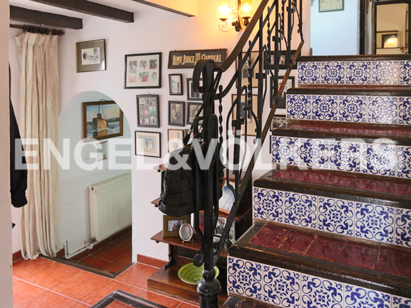 House in La Sella Golf - Traditional staircase.