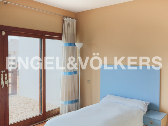 House in Cullera - Bedroom with terrace