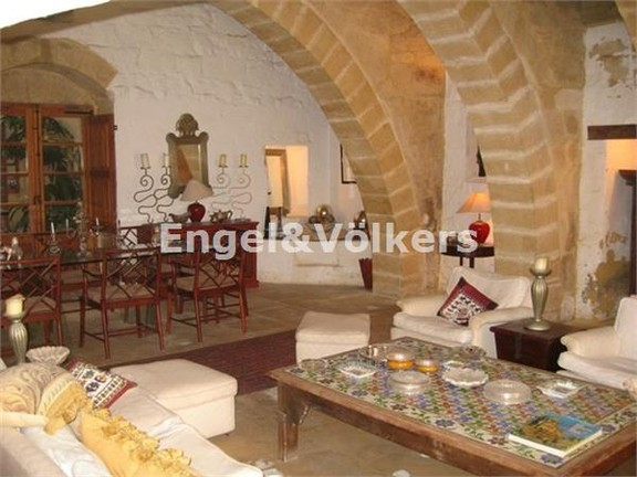 House of Character, Attard, Living Room
