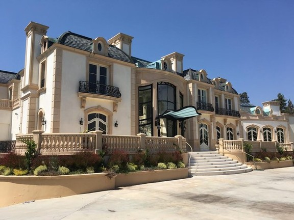 Regal French Chateau awaits you in the heart of Beverly Hills Estates!