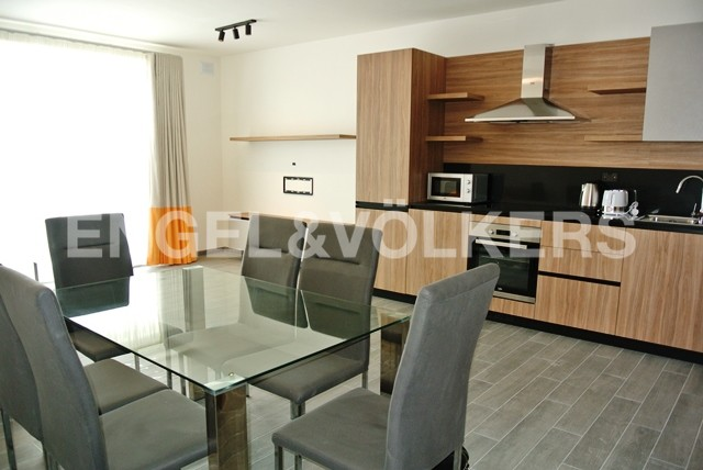 Apartment Kappara,left side units kitchen and lounge