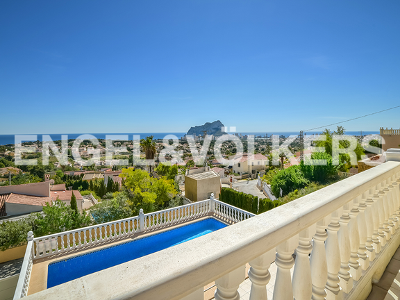 House in Calpe - View from terrace