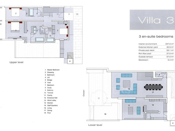 Condominium in Camps Bay - Floor Plans