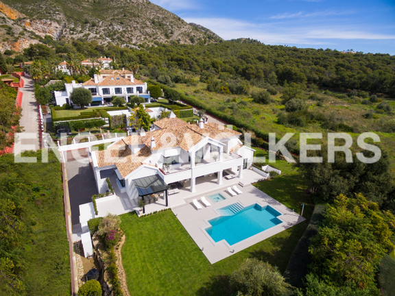 House in Nagüeles - Villa for sale in Marbella Golden Mile