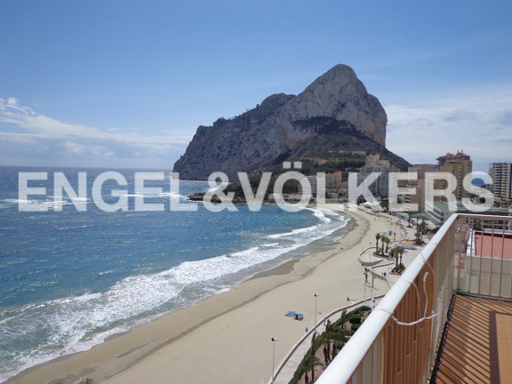 Penthouse in Calpe, Views
